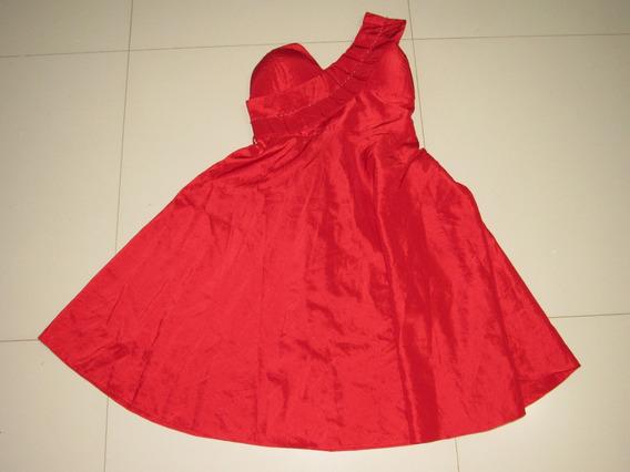 Vestido Vermelho Festa