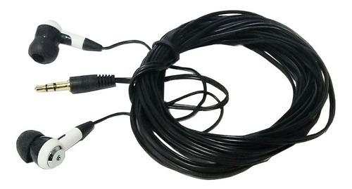 Audifonos In Ear Extension Audio 5m Distancia Plug 3.5mm Tv