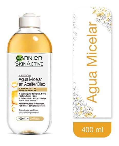 Agua Micelar Limpieza Facial Bifasica Garnier 400ml