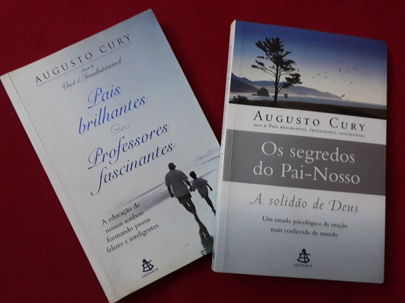 Kit 2 Livros De Augusto Cury - Ed. Sextante