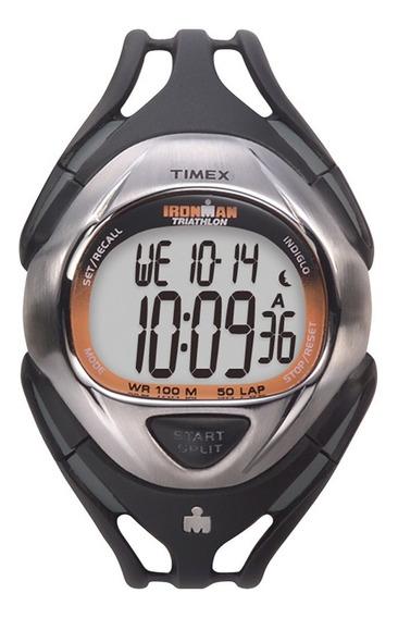 Relógio Timex Ironman Masculino Com Pulseira De Silicone