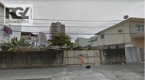 Terreno À Venda, 1420 M² Por R$ 4.500 - Estuário - Santos/sp - Te0107