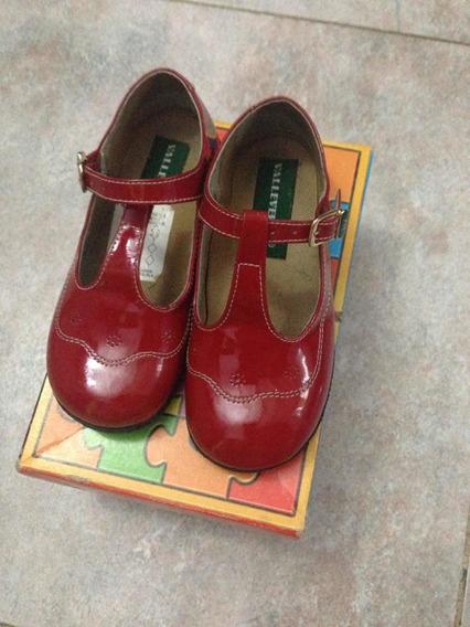 Zapatos Nina Patente Valle Verde