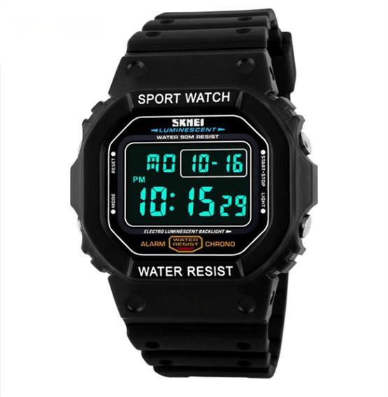 Relógio Masculino Skmei Digital Preto 1134 Promoção Oferta