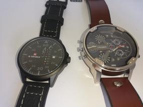 Kit Com 2 Relógios Masculino