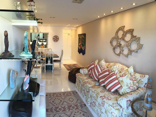 Apartamento Para Venda Em Guarujá, Enseada, 3 Dormitórios, 1 Suíte, 3 Banheiros, 2 Vagas - 1-100817_2-566522