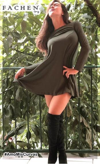 Vestido Linea A Verde M05