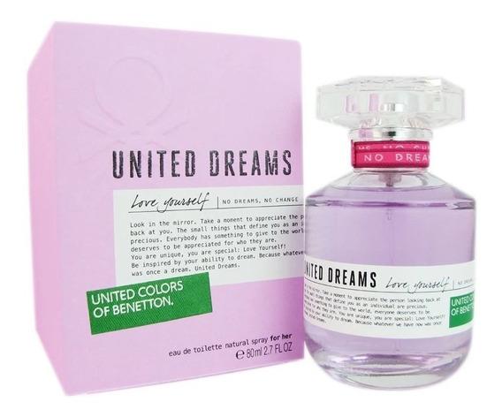 United Dreams Love Yourself Benetton Feminino 80ml