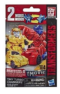 Transformers: Tiny Turbo Cambiadores Serie 4