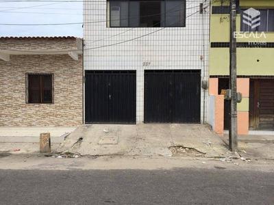 Casa Com 2 Dormitórios Para Alugar, 100 M² Por R$ 1.100/mês - Mucuripe - Fortaleza/ce - Ca0150
