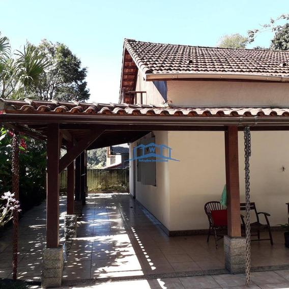 Casa Linear, Beira De Rua. Próximo De Comercio Da Saída Para O Rio - Ca0022