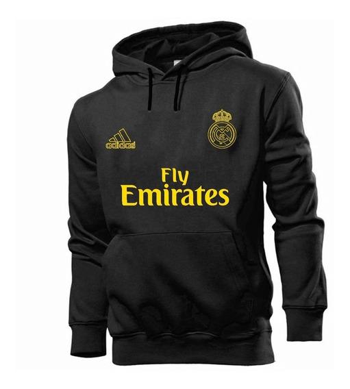 Blusa Moletom Real Madrid Time Futebol Cristiano