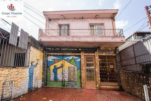 Casa A Venda No Bairro Vila Gustavo Em São Paulo - Sp.  - P0025-1