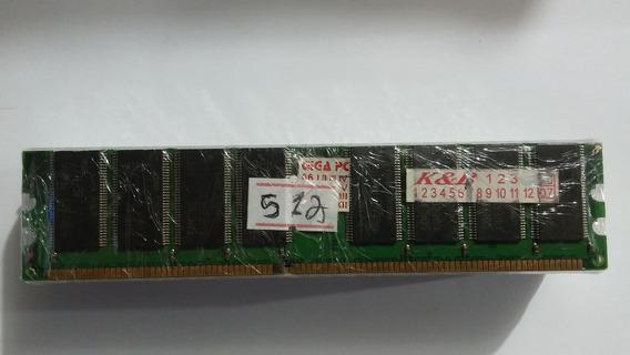 Lote 10 Memórias Desktop Pc Chip 512mb Ddr 400mhz #126