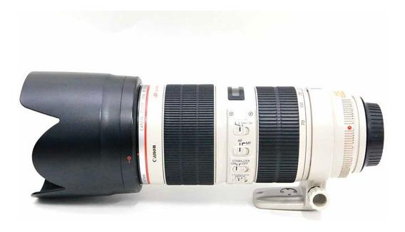 Lente Canon 70-200 2.8 L Is Ii Usm