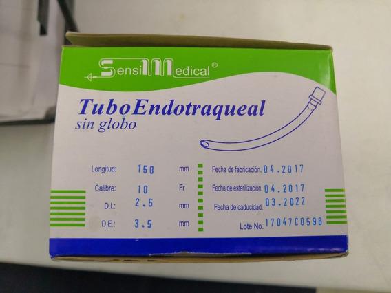 Tubo Endotraqueal Sin Globo #10 Calibre 2.5
