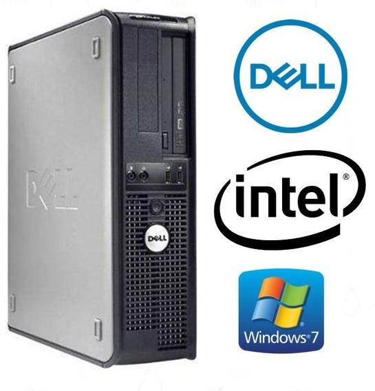 Cpu Dell 320 Dua Core Memoria 2gb Ddr2 Hd 80gb Windows 7