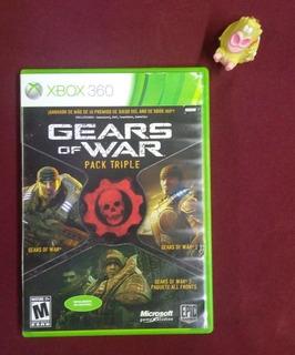 Gears Of War Pack Triple Xbox 360 Garantizado