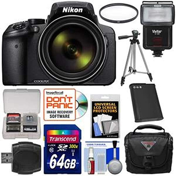 Camara Nikon Coolpix P900 Wi-fi 83x Zoom Digital 64gb Card ®
