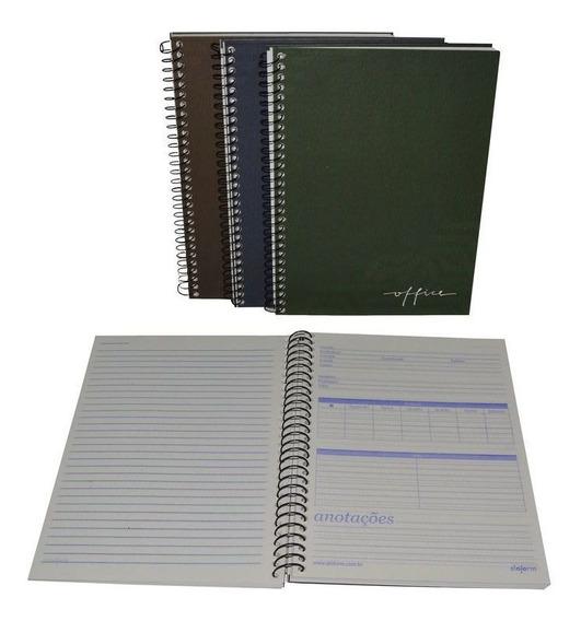 8 Caderno Universitário Capa Dura 96 Folhas 1 Matéria