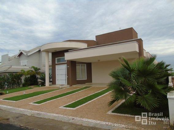 Casa Residencial À Venda, Condomínio Palmeiras Imperiais, Salto - Ca0890. - Ca0890