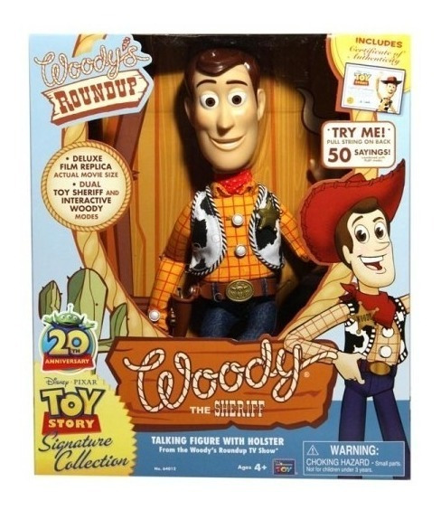 Woody Toy Story Edición Colección 64012 Nacional