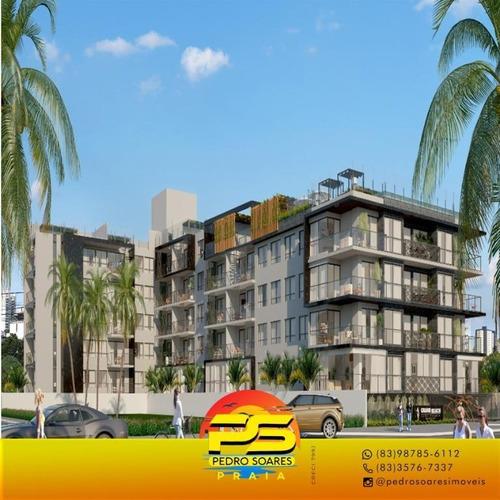 (oportunidade) Apartamento Beira Mar Cabo Branco - Ap4035
