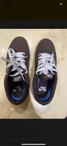 Zapatillas Nike Sb Solar Soft Us 5 Plantilla 23 Cm Suel 25 C