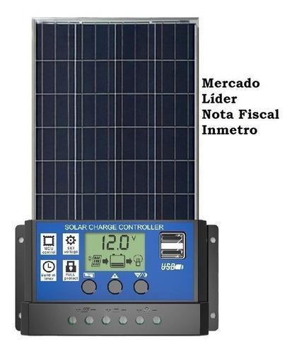 Kit Painel Controlador Energia Solar Fotovoltaica 275w Watt