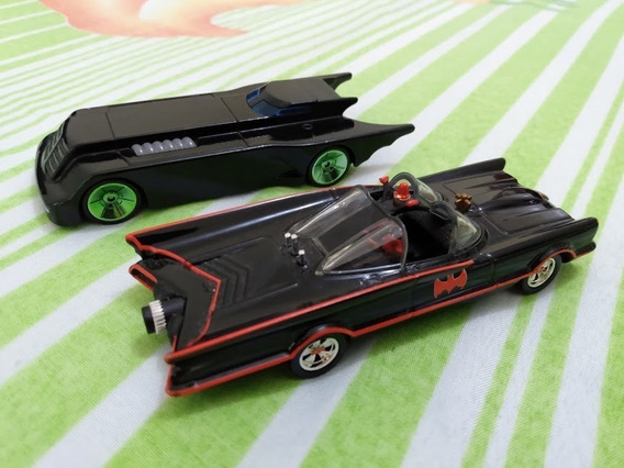 Kit 2 Batmóvel Hotwheels 1:50 (9 Cm) Loose