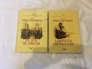 Lote 2 Libros Del Capitán Alatriste: Num. 2 Y 3