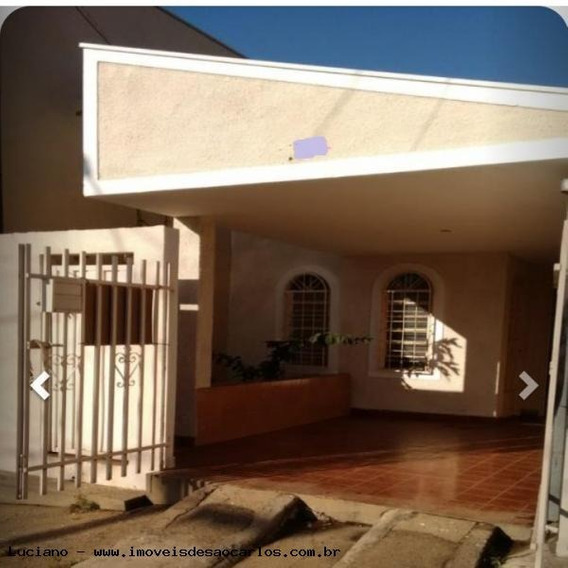 Casa Para Venda Em São Carlos, Jardim Tangará, 2 Dormitórios, 1 Banheiro, 1 Vaga - Lc344