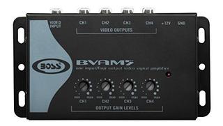 Boss Audio Bvam5 Amplificador De Seã±al De Video Para Auto