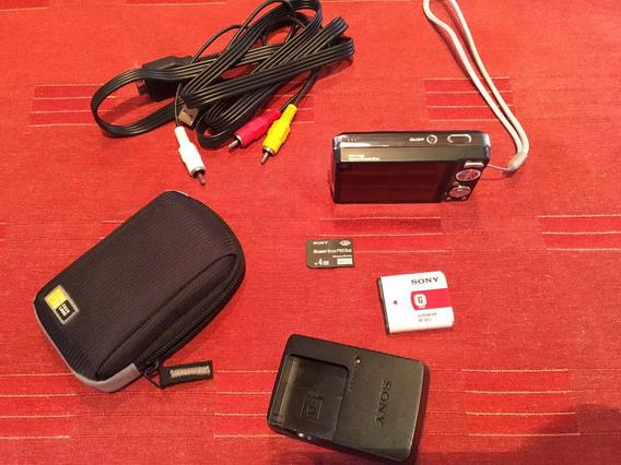Cámara Digital Sony Dsc-w230 Cyber-shot 12.1 Mp + Accesorios