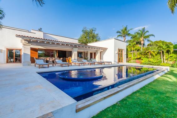 Venta De Residencia En Vista Hermosa, Cuernavaca...clave 3083