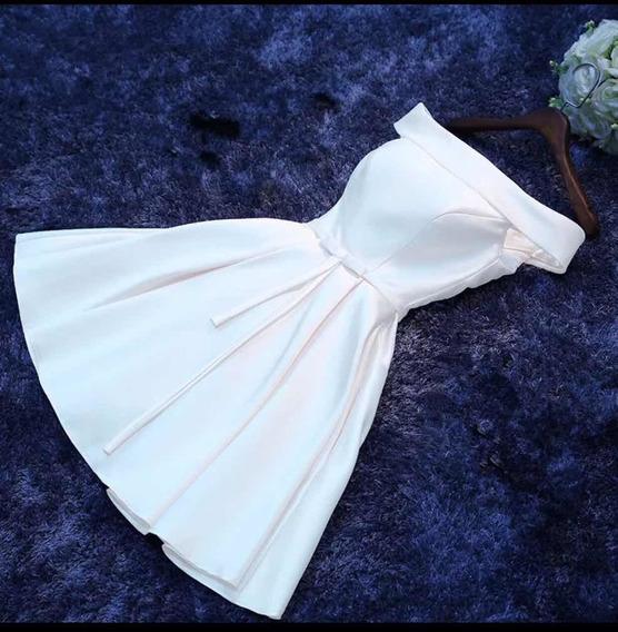 Vestido Importado De Novia, Casamiento, Civil, Fiesta