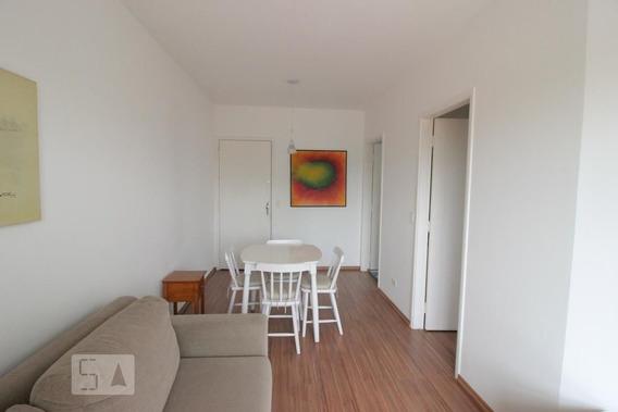 Apartamento No 10º Andar Mobiliado Com 1 Dormitório E 1 Garagem - Id: 892984228 - 284228