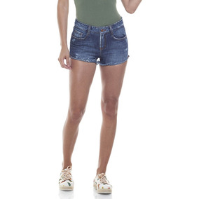 Shorts Feminino Young Escuro Denim Zero-dz6273