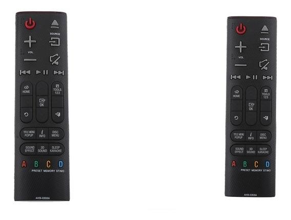 2x Ah59-02630a Substituição Sound Bar Controle Remoto Para S