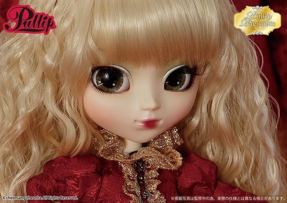 Clube Doll: Boneca - Pullip - Veritas Deep Crimson Version