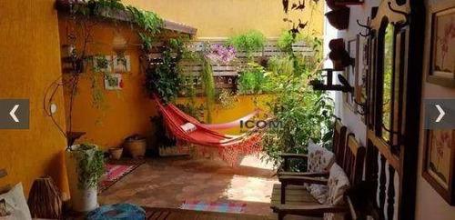 Casa Com 3 Dormitórios À Venda, 130 M² Por R$ 900.000,00 - Santa Teresa - Rio De Janeiro/rj - Ca0242