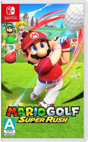 ..:: Mario Golf Super Rush ::.. Nintendo Switch