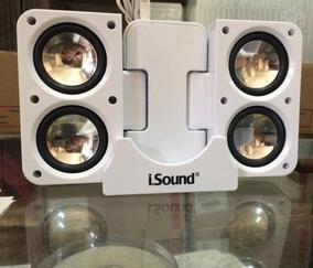Caixa Acústica Isound, Funciona Em Toda Linha Apple, Samsung