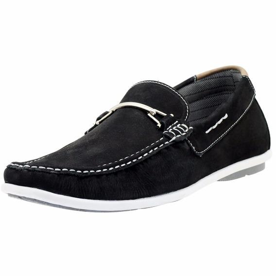 Sapato Mocassim Masculino 100% Couro Blaqueado Forrado 571