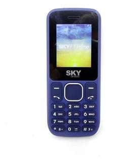 Celular Sky 2 Chips Radio Fm Entrada Para Antena Rural