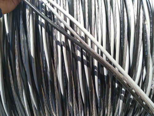 Imagem 1 de 6 de Cabo Aluminio Triplex 10mm 3x10 Com 50 Metros