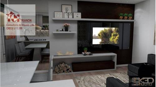 Apartamento Com 3 Dormitórios À Venda, 85 M² Por R$ 490.000,00 - Vila América - Santo André/sp - Ap2354