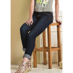 Look Sensual Push Up Jeans Corte Skinny Dama Latina 1037661