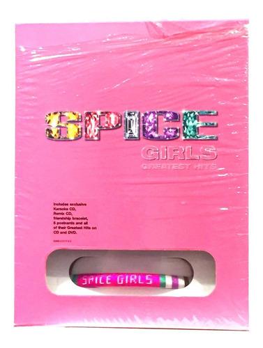 Spice Girls Greatest Hits Pink Box Deluxe Nuevo Original