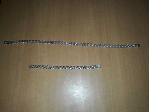 Cordão É Pulseira De Prata 950